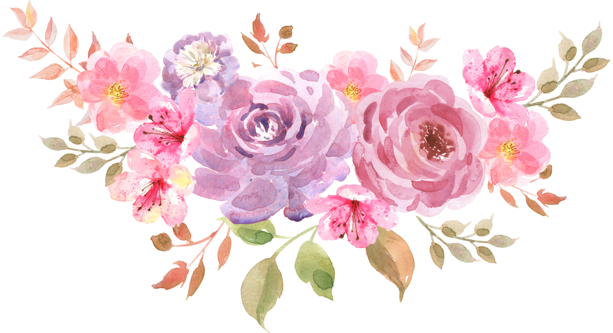 нежные цветы картинка пнг свадебный