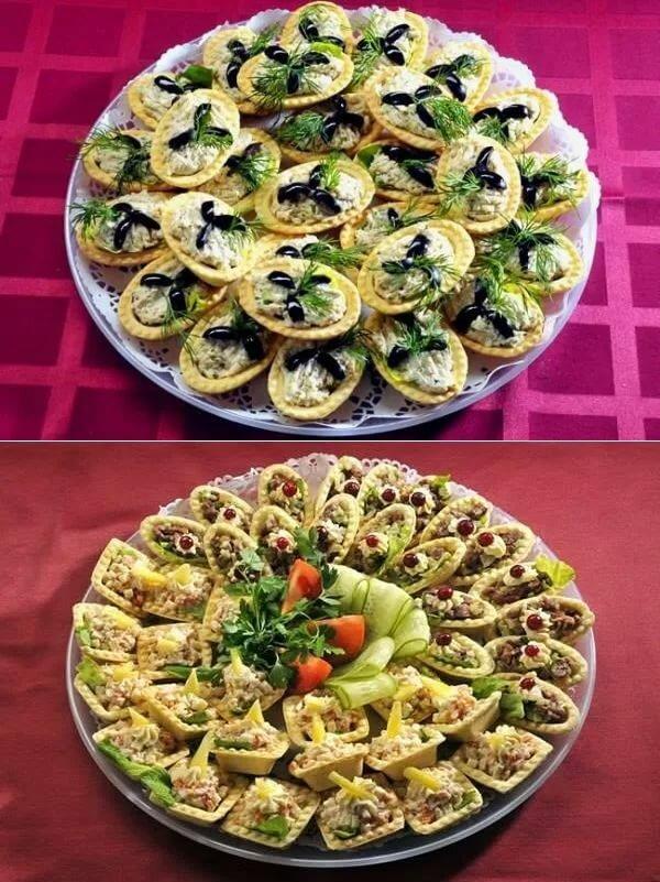 фотография, как интересные рецепты салатов и закусок с фото дивана
