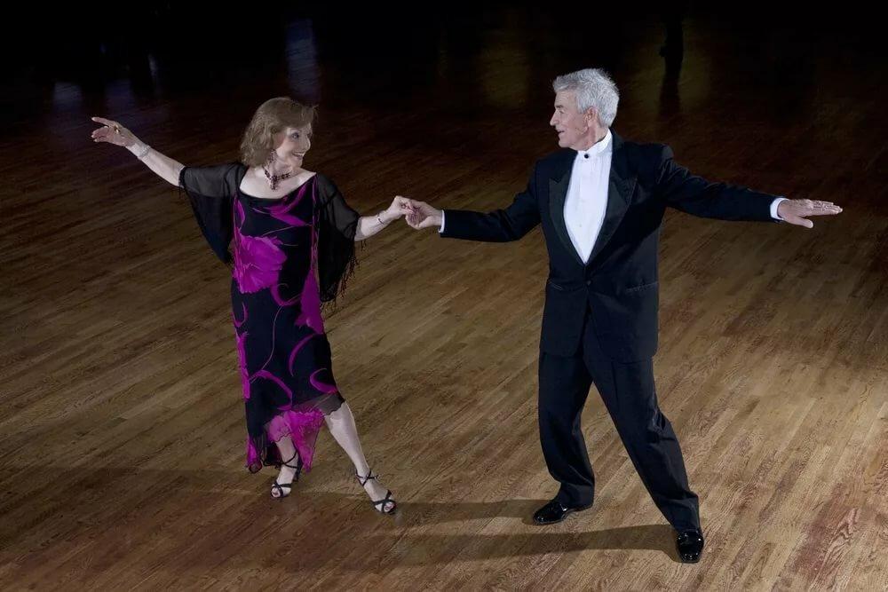 Танец пожилых людей картинки анимация спокойной