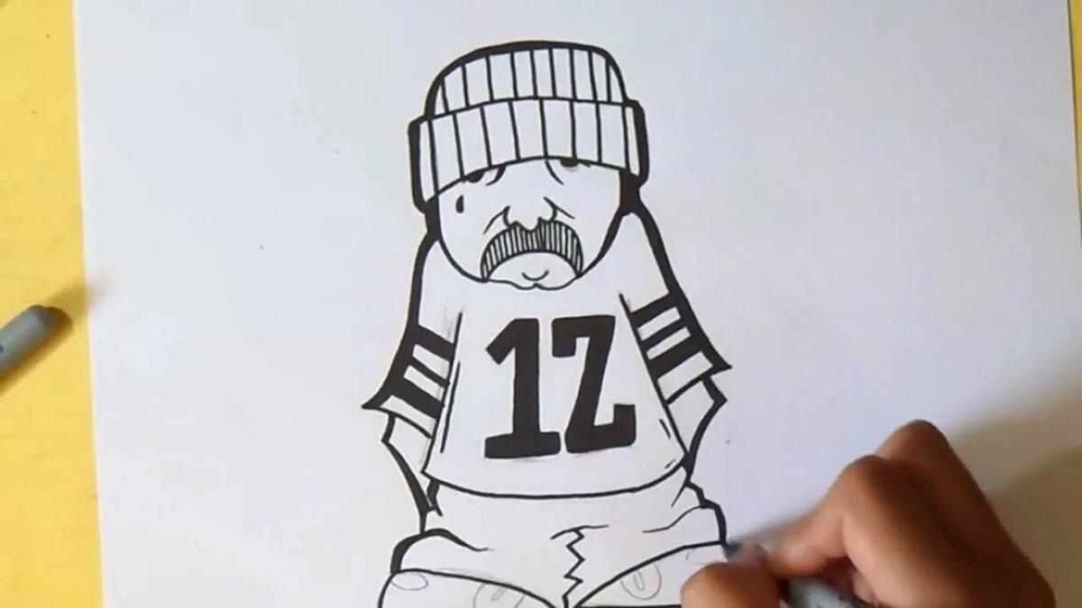 День, рисунки для граффити прикольные