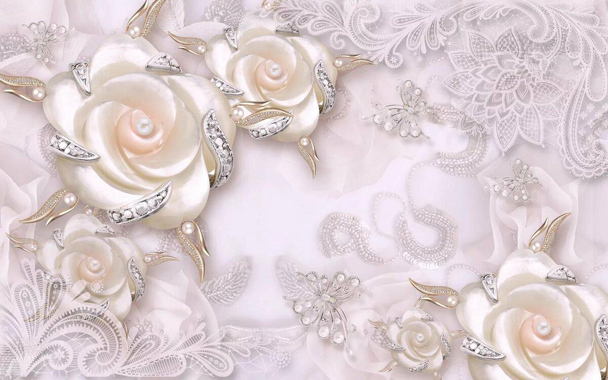 Фон под свадебную открытку