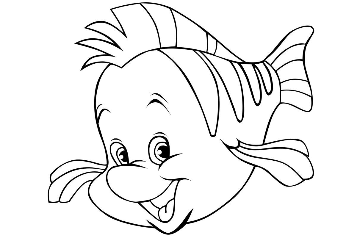 Юбилеем, рыбы картинки раскраски