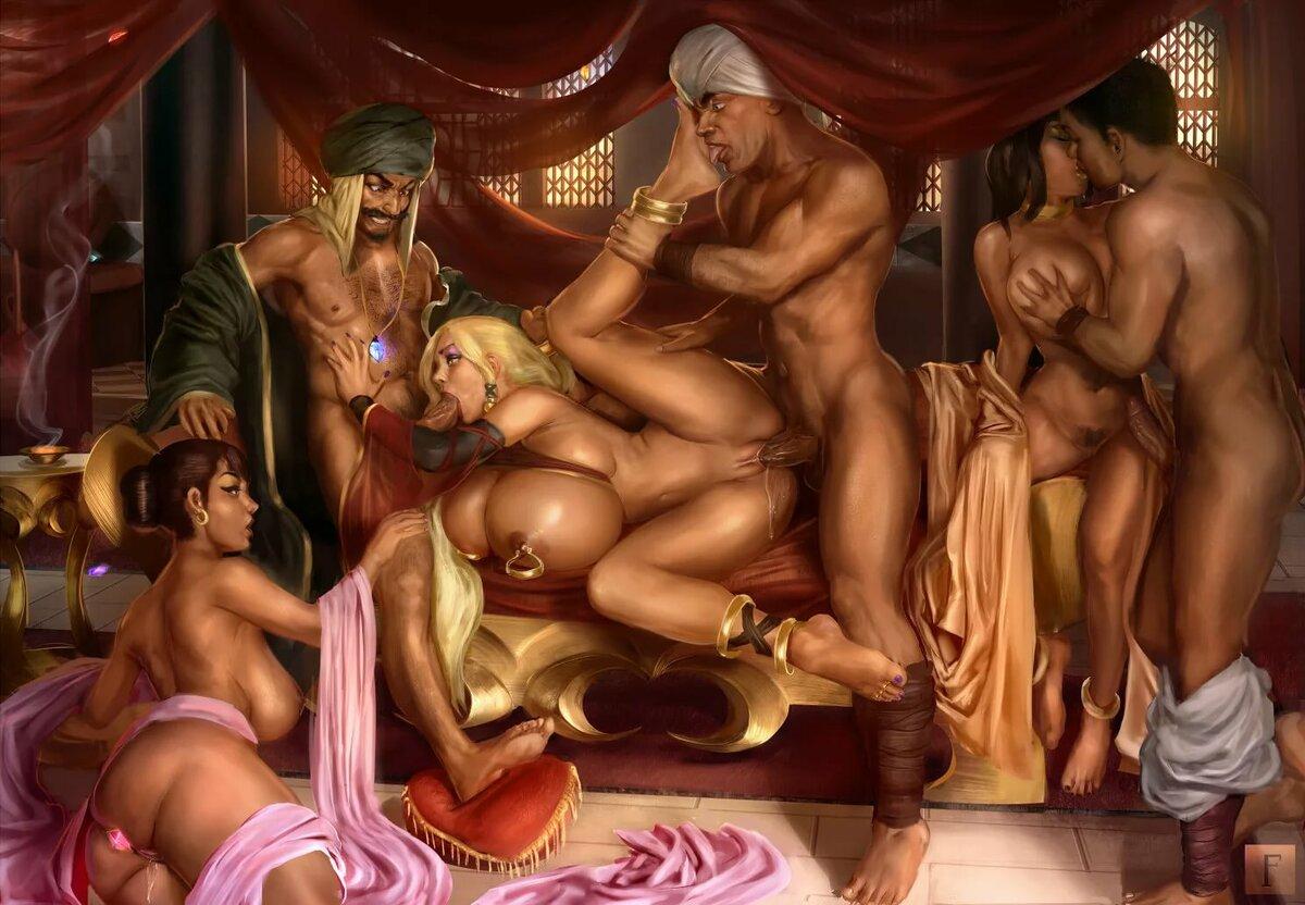 действовал сказки востока порно сергеем