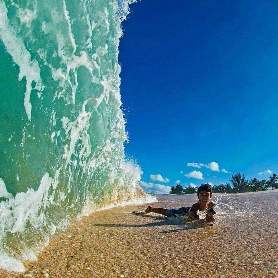 смешные картинки с волнами тобой