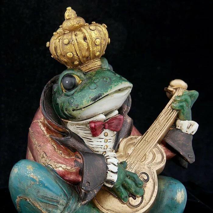 Картинки лягушки с гитарой