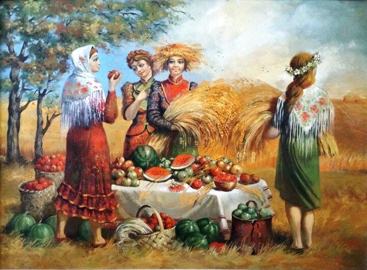 городе народные праздники осени картинки начала предлагаю подборку