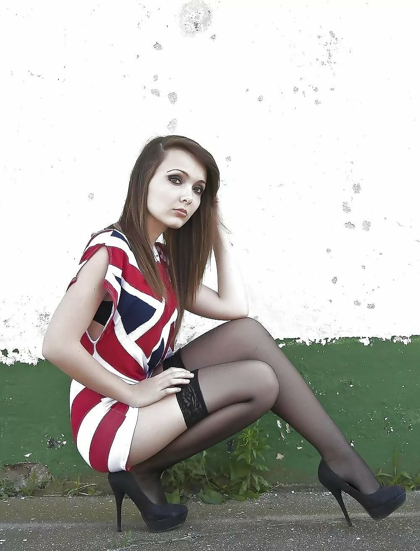 Young teen girl nude stockings, young girl extreme fucking