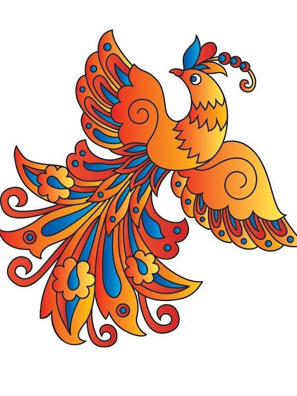 Картинка жар птица