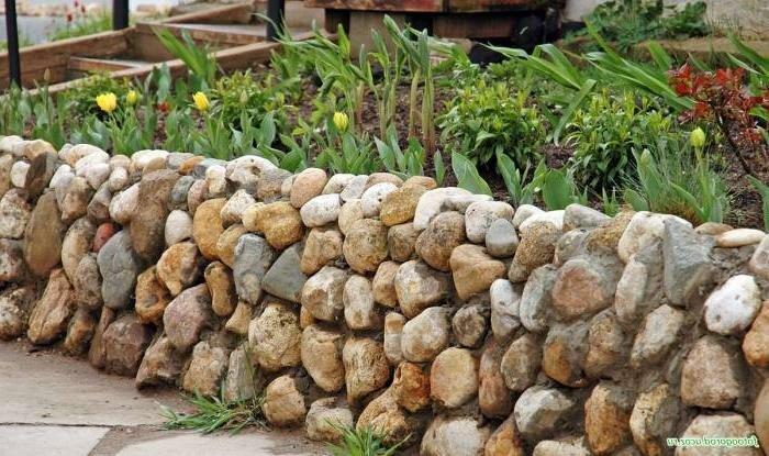 линейка выпускаемых декоративный забор из камней на даче фото кошки короткими лапами