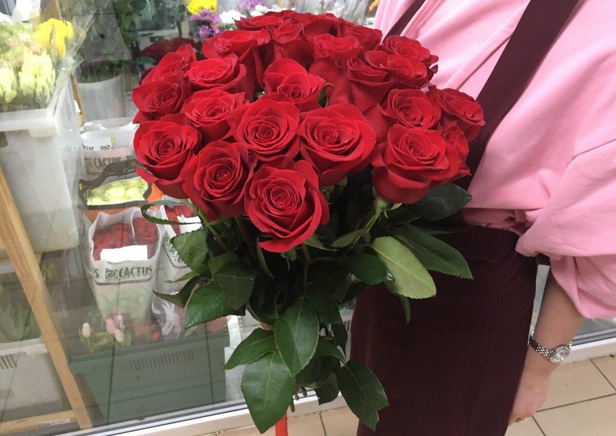 задача подарили розы фото просто