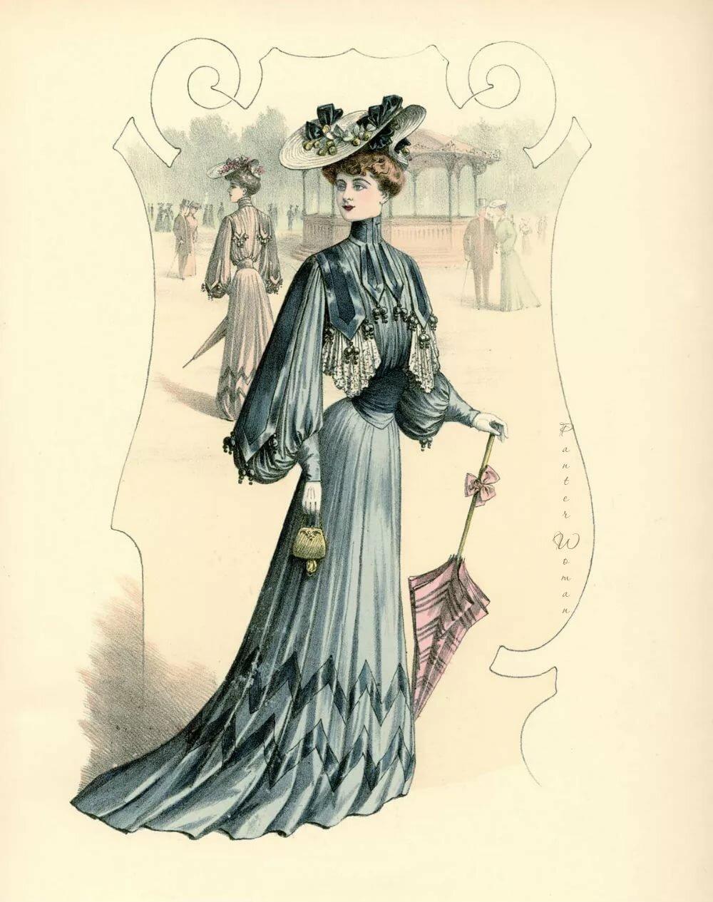 мнению история женского платья в картинках картины отличное