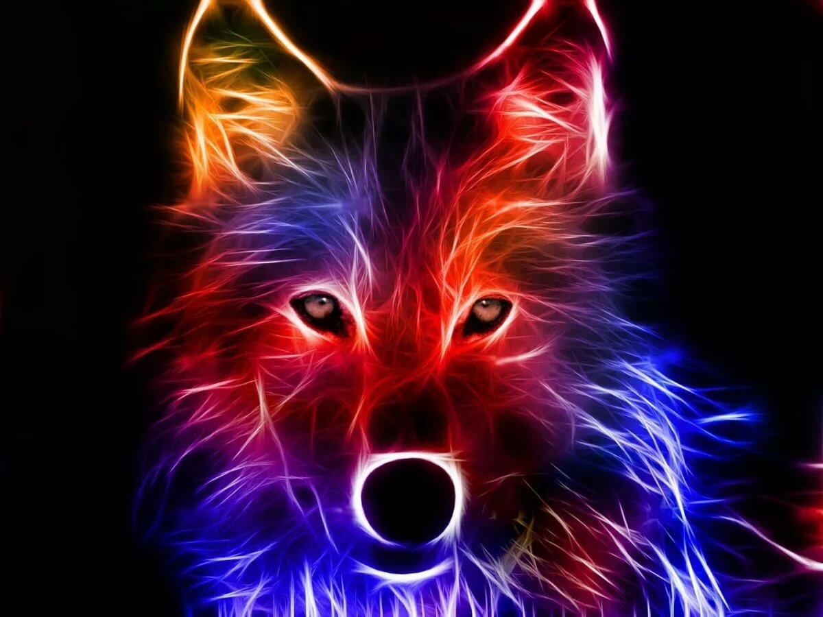 Рисунок прикольные, волки крутые картинки
