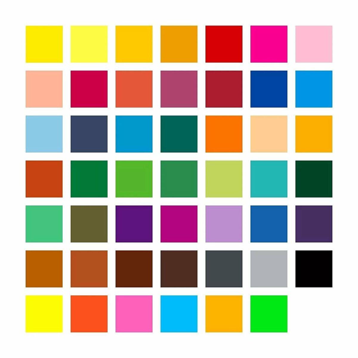 Квадраты всех цветов картинки