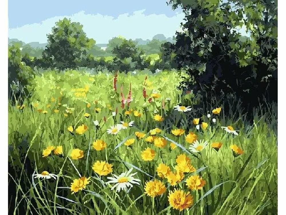 Резные, луговые цветы открытки
