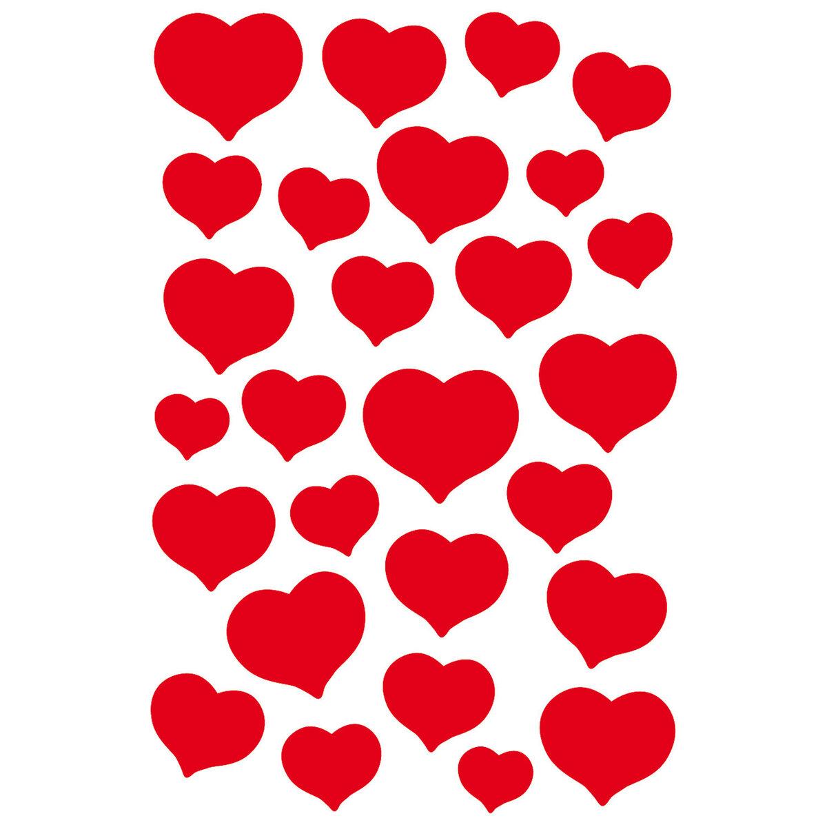 Делать картинку, картинка с сердечками на а4