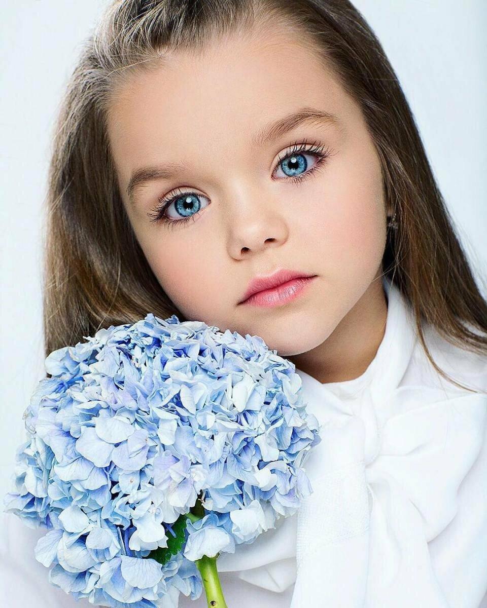 Самой красивой девочке картинки детские, открытки для