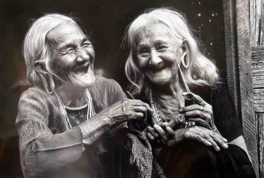 Смешные картинки старушки подруги