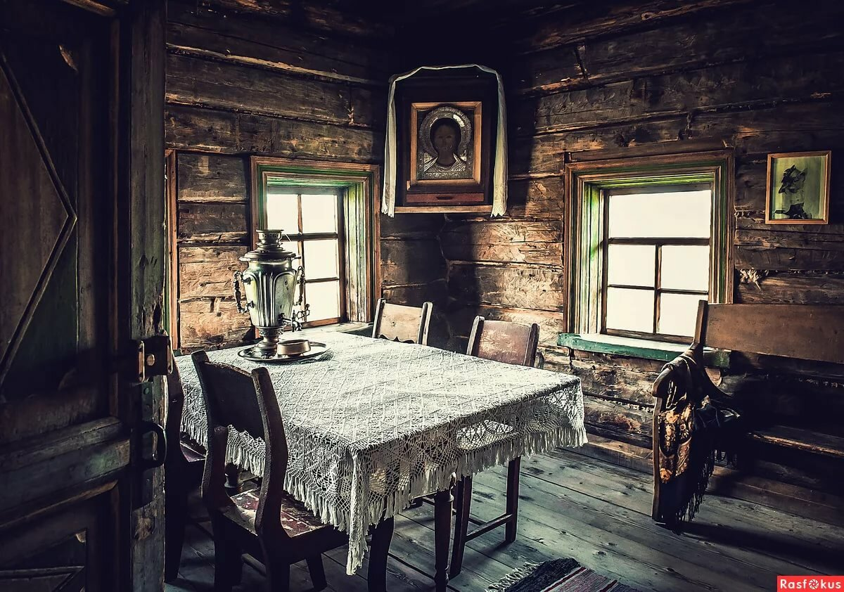 Картинки комнаты деревни