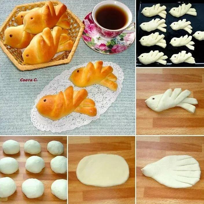 Красивые формы пирожков фото