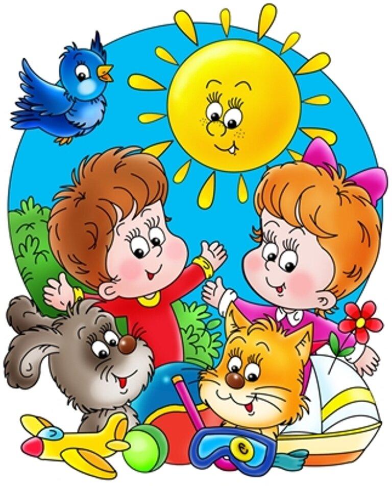 Картинки детей в детском саду в картинках