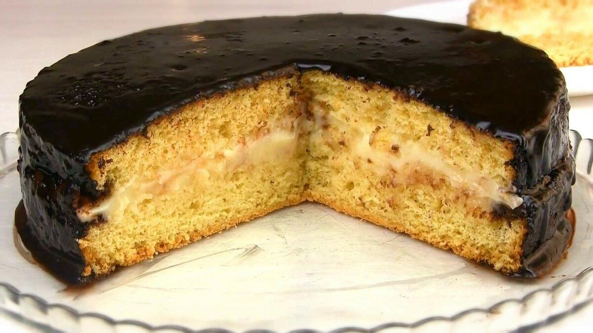 Рецепты бисквитных тортов с фото в домашних
