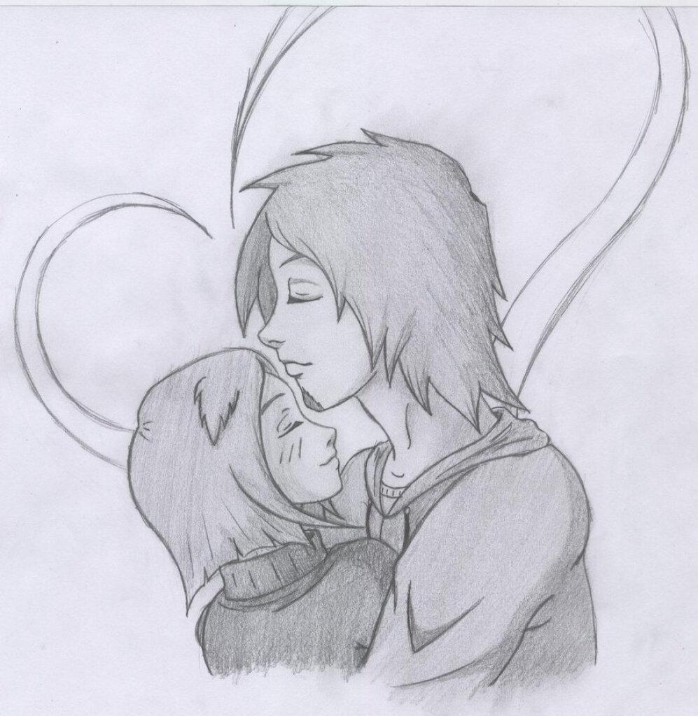 Открыток скрап, рисованные картинки карандашом смешные про любовь
