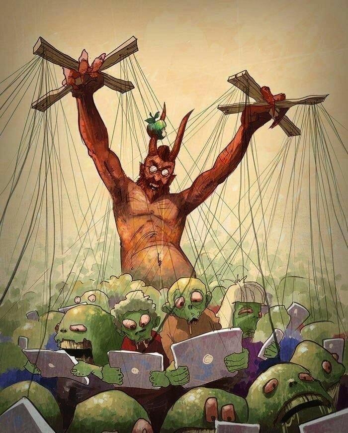 Смешные картинки сатаны, надписью дороги