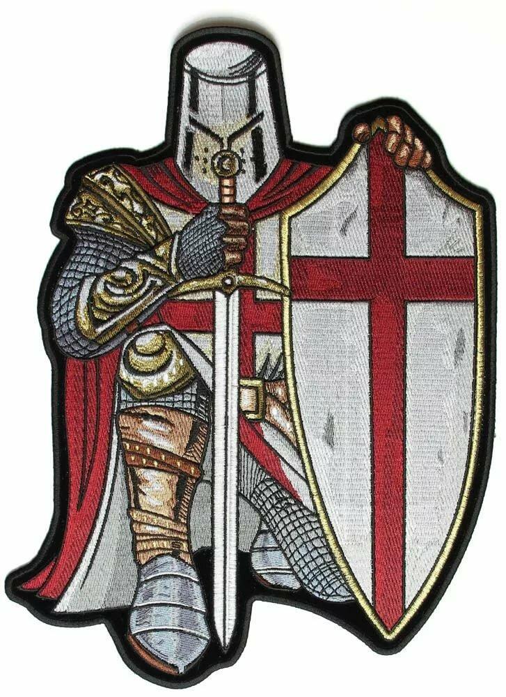 Картинки крестоносцев с щитом и мечом