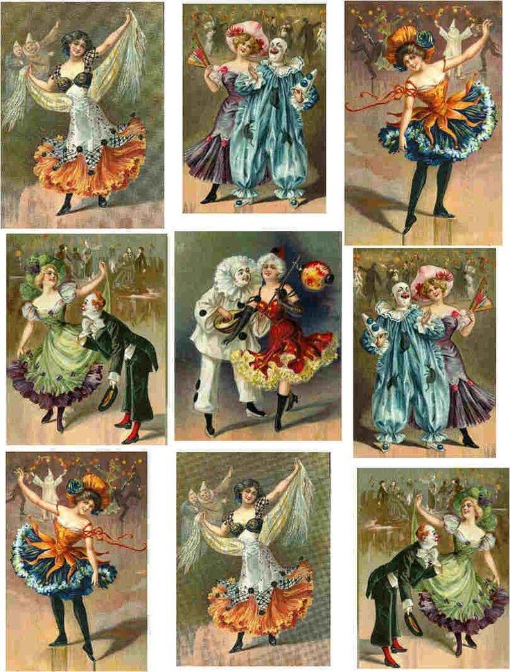 Прикольные, открытка старый цирк