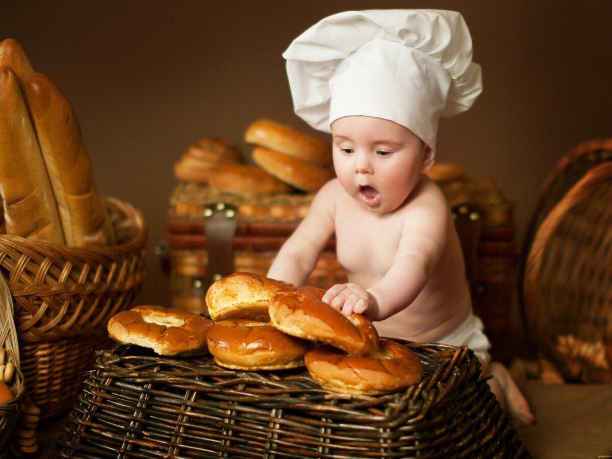 Новорожденной открыткой, веселые картинки с хлебом