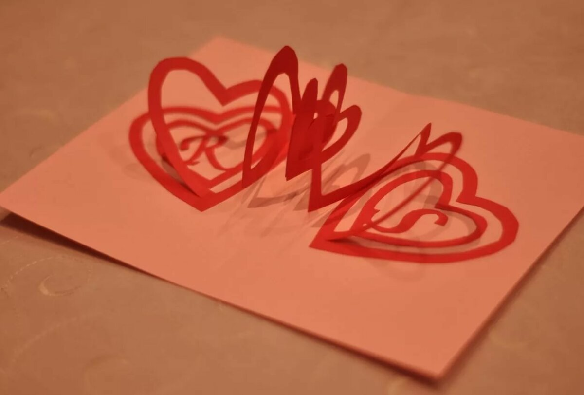 Как вырезать открытку сердечко из бумаги, покров богородицы