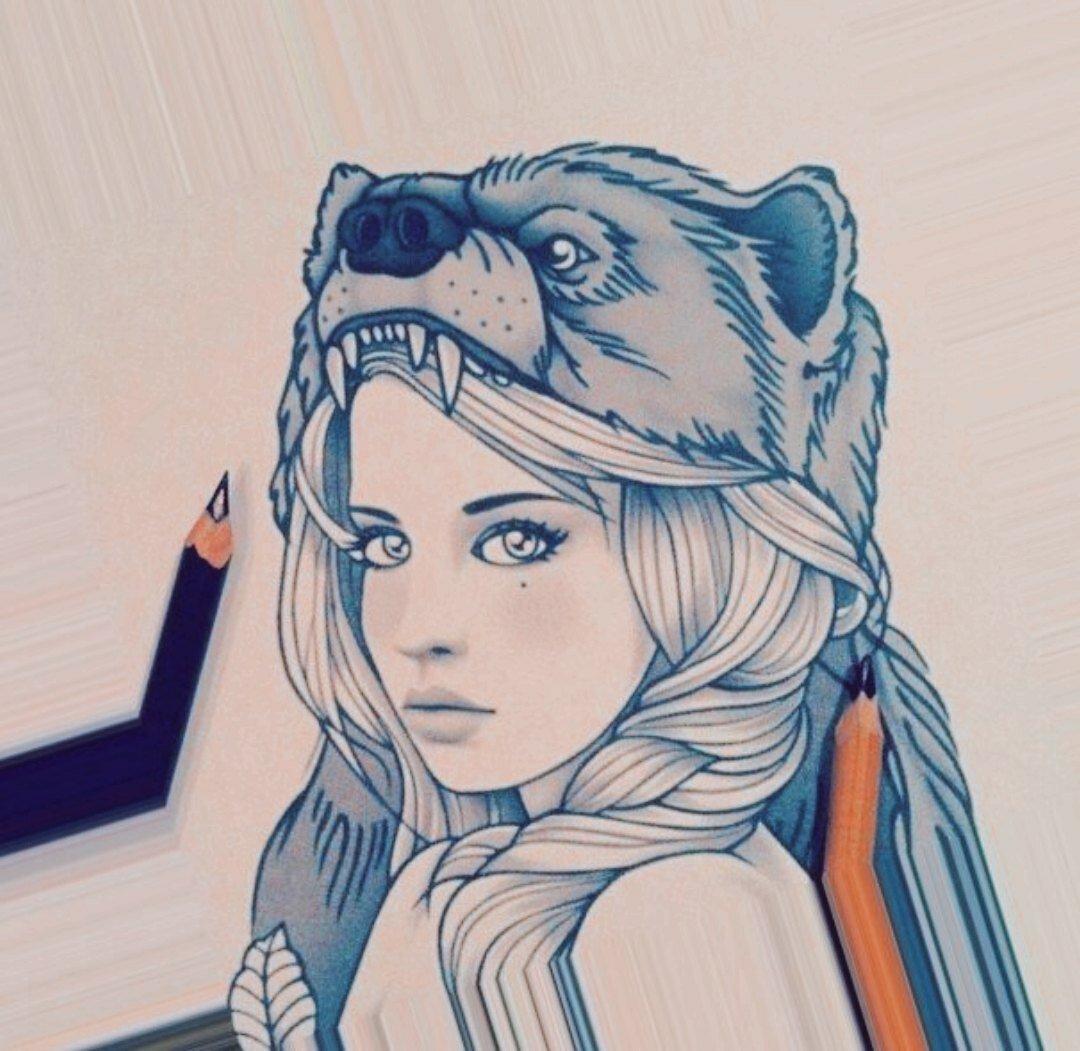 Крыме, прикольные картинки на аву в вк для девушек нарисованные