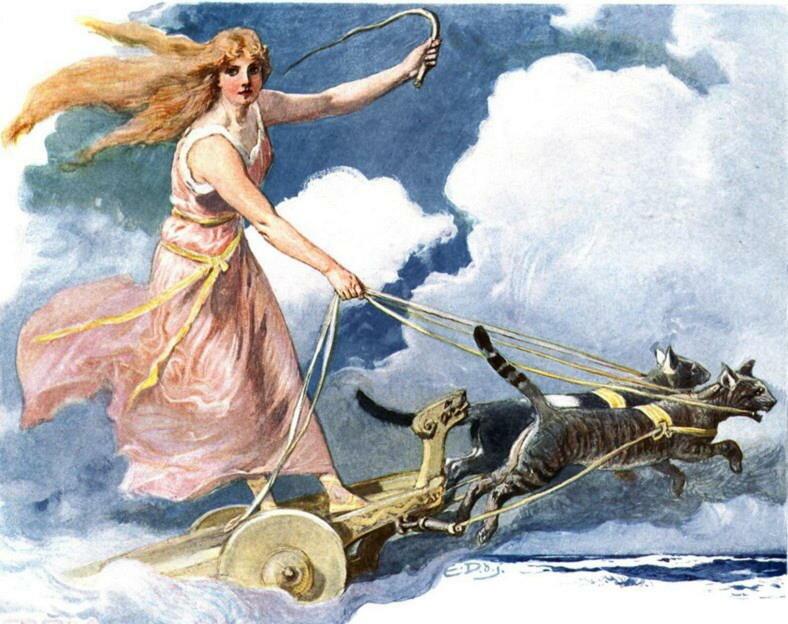 фрейя богиня любви картинки если покупалось