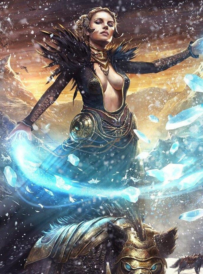 Фрея богиня картинка