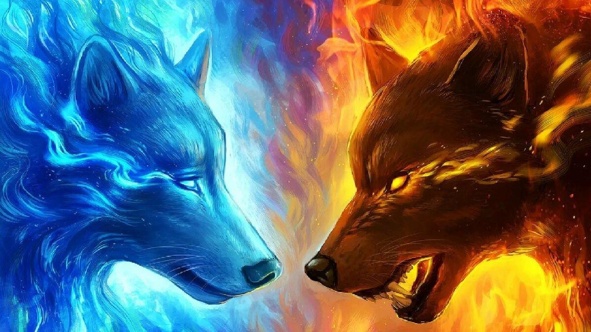 огненный волк картинки занятия лепкой