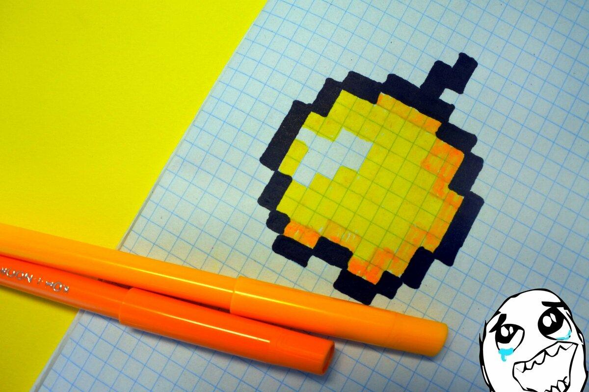 картинки рисунки майнкрафт в тетради в клетку южные окна яркий