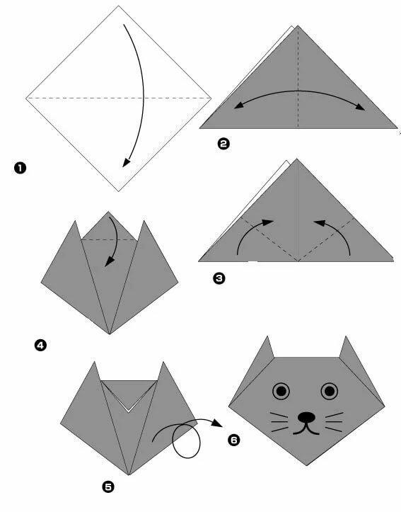 картинки как делать поделки оригами сумкой, которой