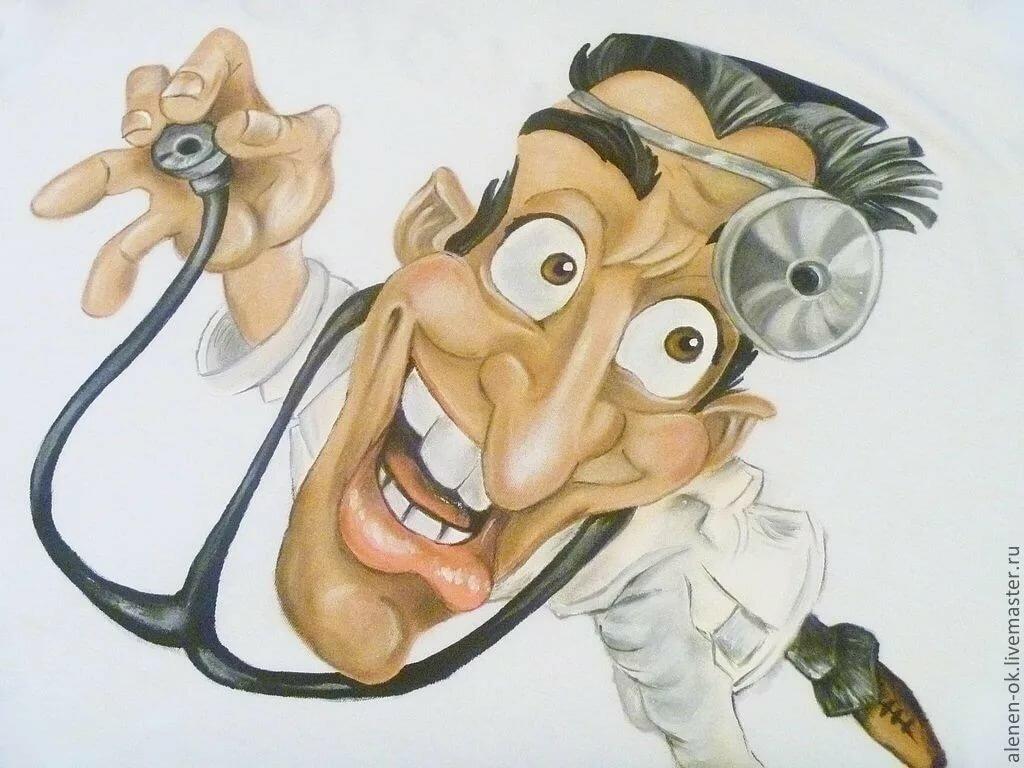 Смешные рисунки врачи, картинки учителю