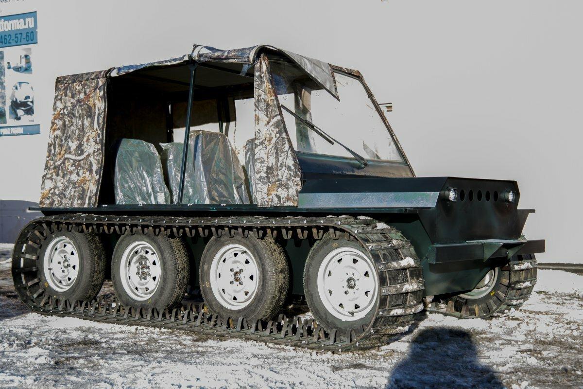 Минивездеход Егоза Охотник-2