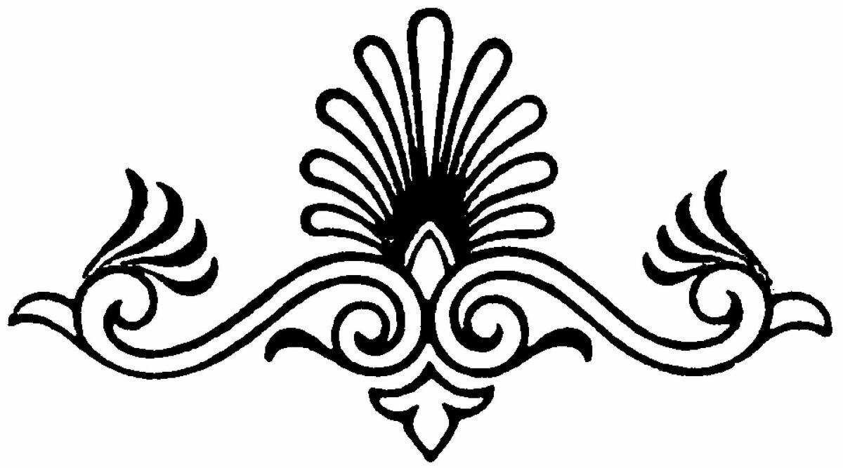 Орнаменты рисунки карандашом
