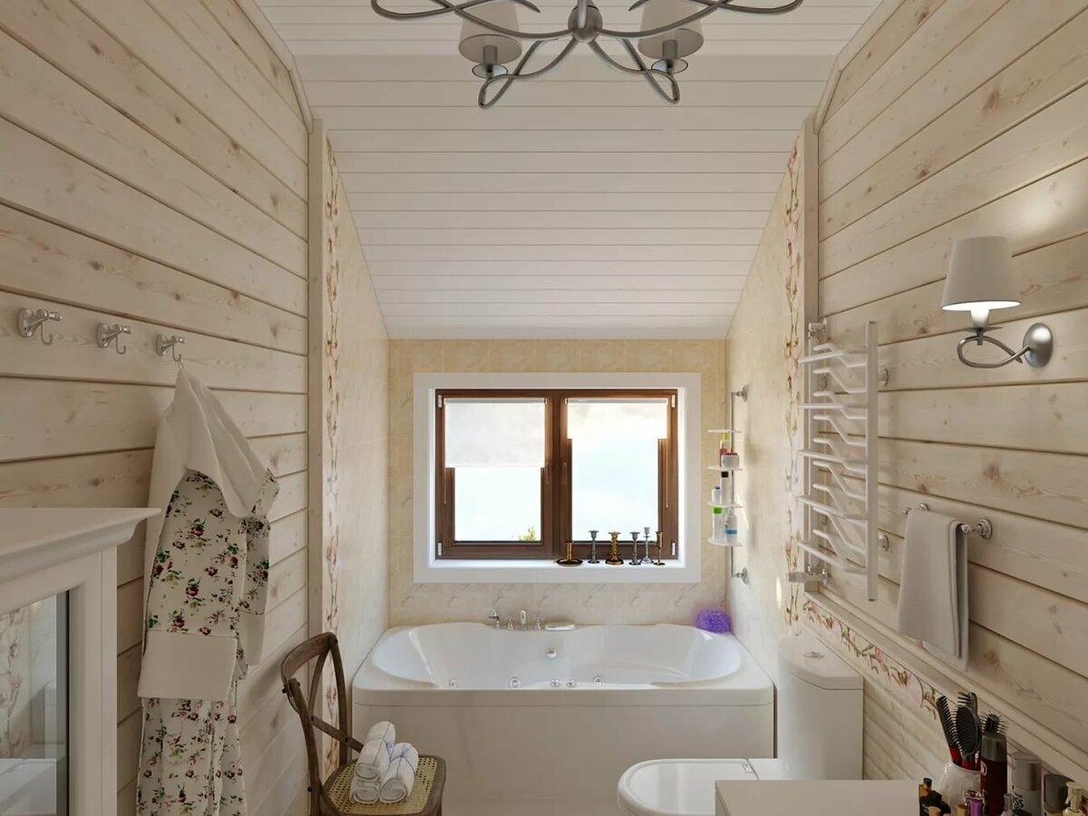 софит отделка санузла в деревянном доме фото разработок