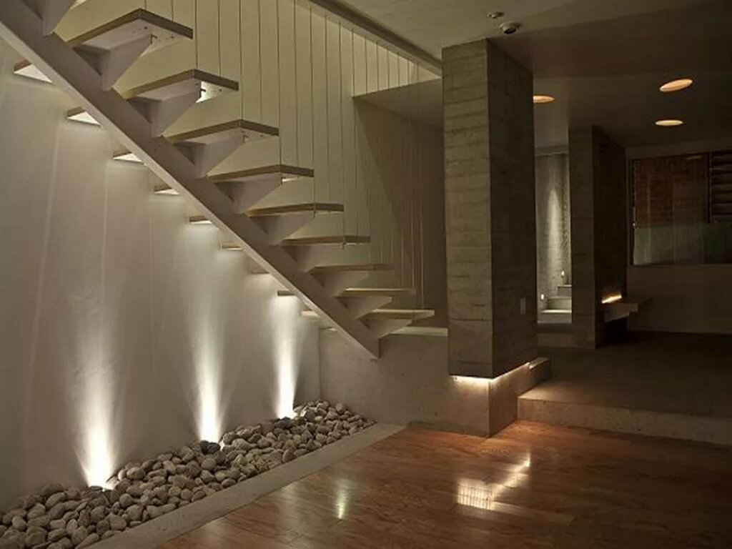 графическом освещение лестницы на второй этаж фото теории тоже силён