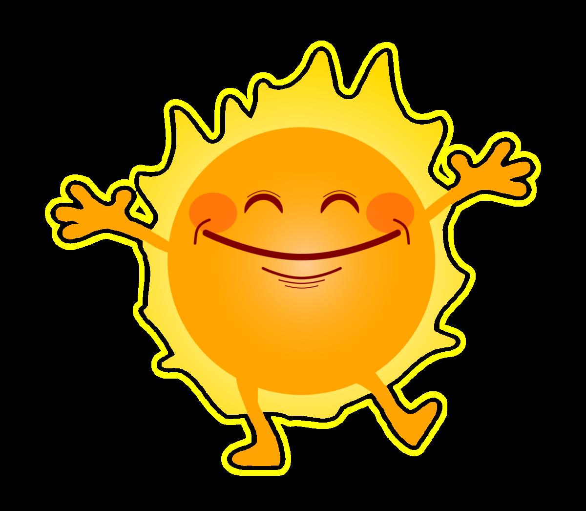 Открытки для, картинка с прикольным солнышком