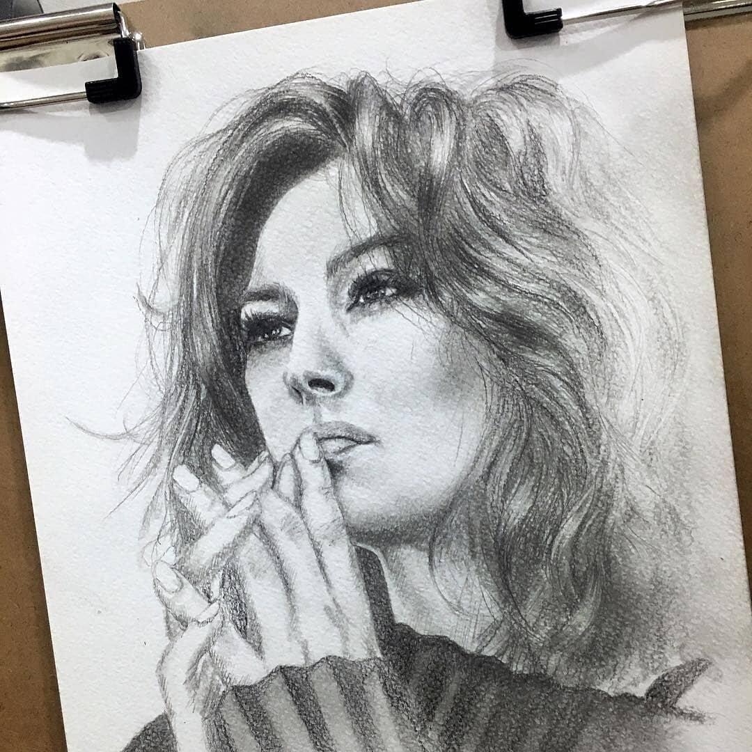 мои рисунки людей картинки окончил музыкальное