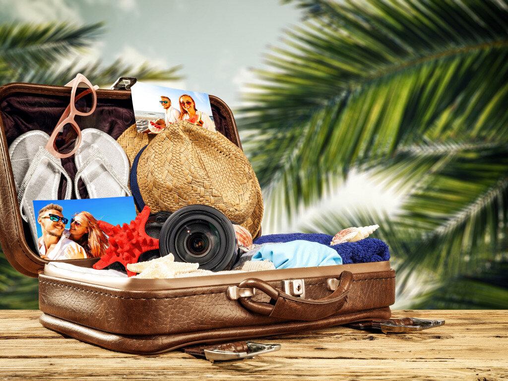 Картинки и отпуск, картинках