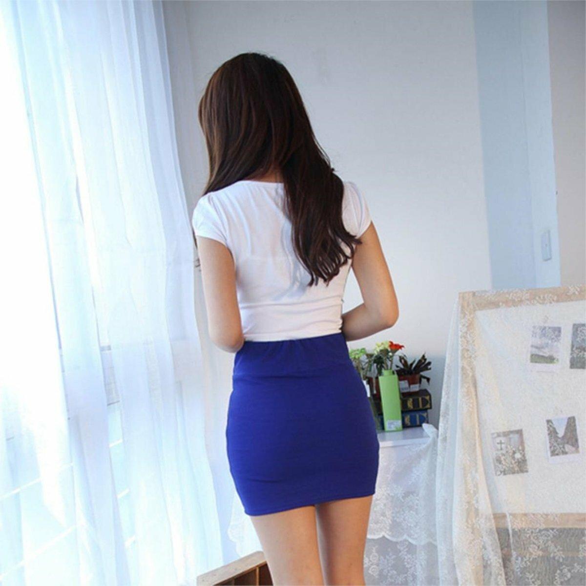 Девушки в юбках облегающих попку, порно соло девчонок