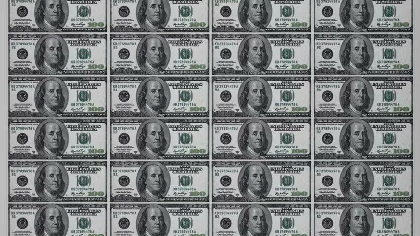 Картинки доллары распечатать