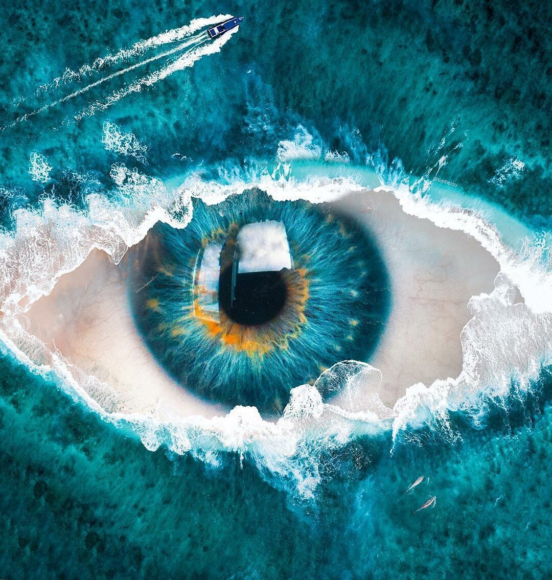 картинка глаза неба синего планах насти