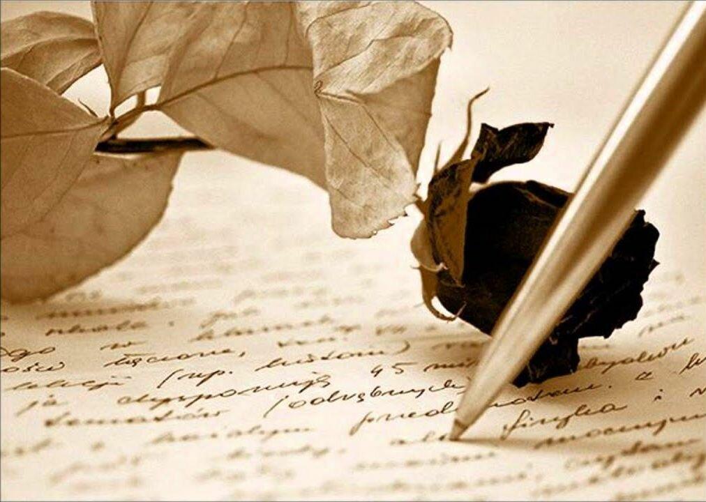 Пишу тебе открытку