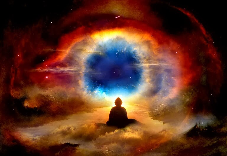 картинки вселенная бог душа дух